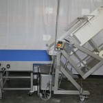 Tipping unit w. conveyor | Food Industry