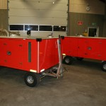 Sanitary Service units for aircrafts